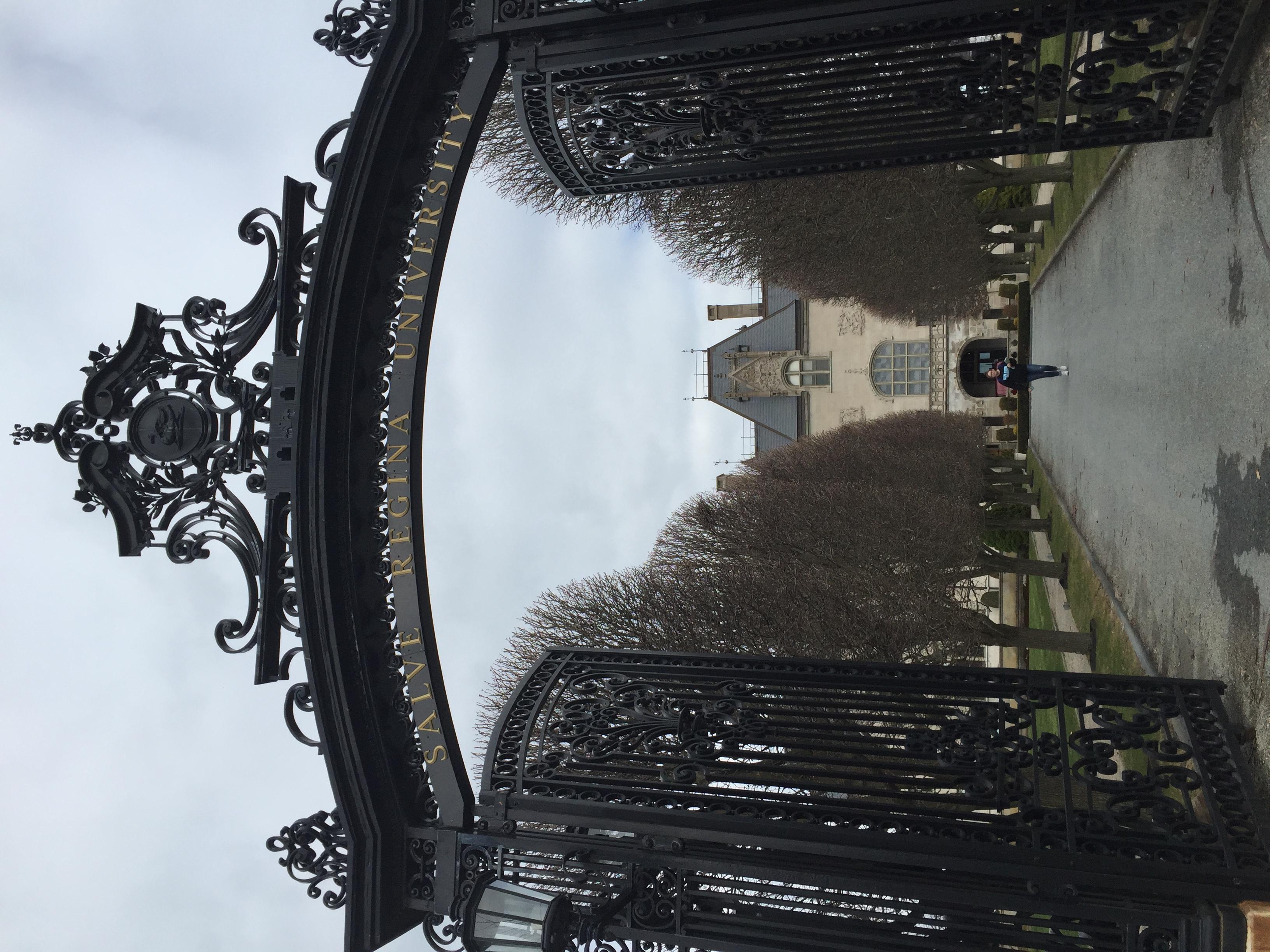Main gate of Ochre Court