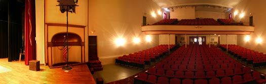 Inside the Ariel Theatre