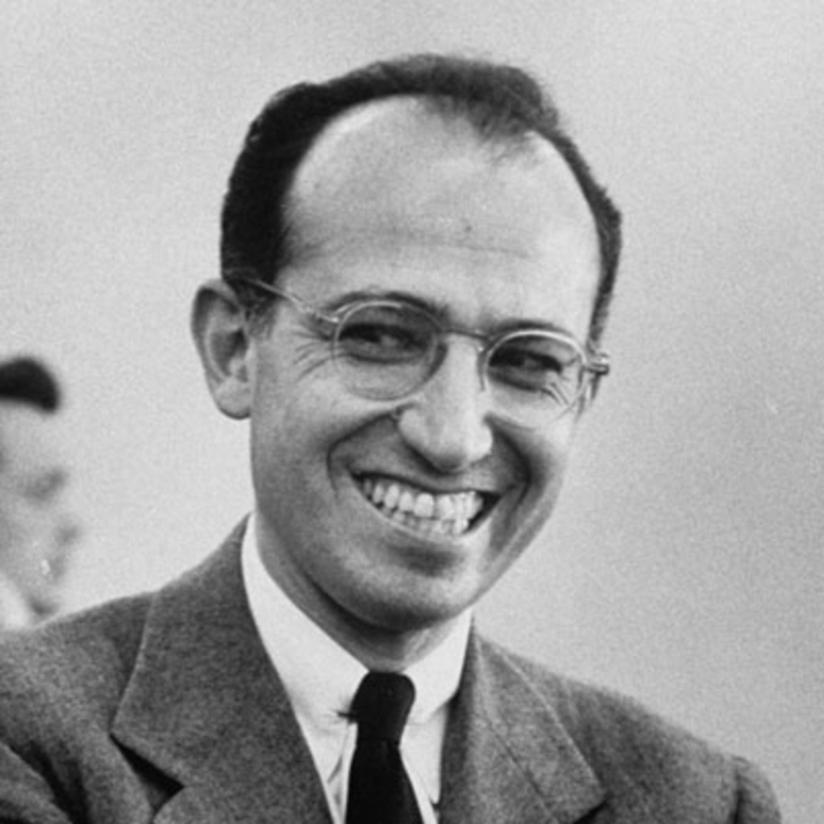 Jonas Salk (1914-1995) developed the first effective polio vaccine in the mid-1950s.