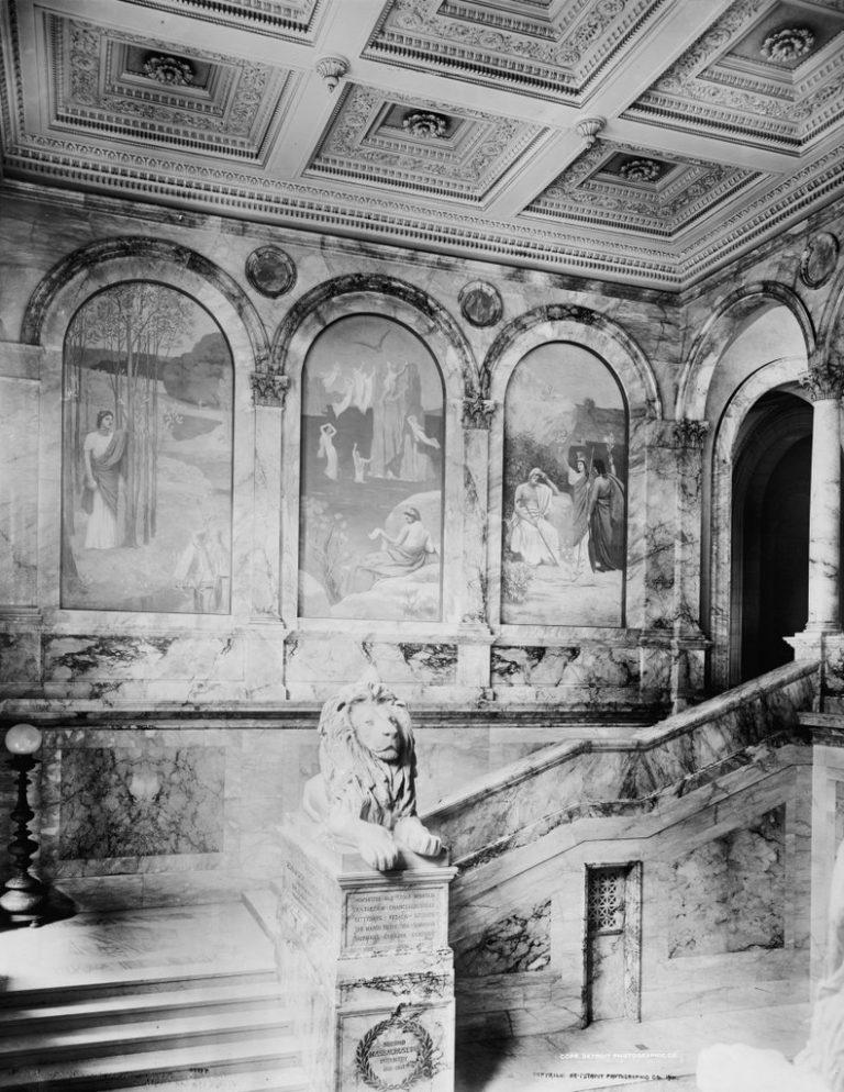 Grand Staircase circa 1901