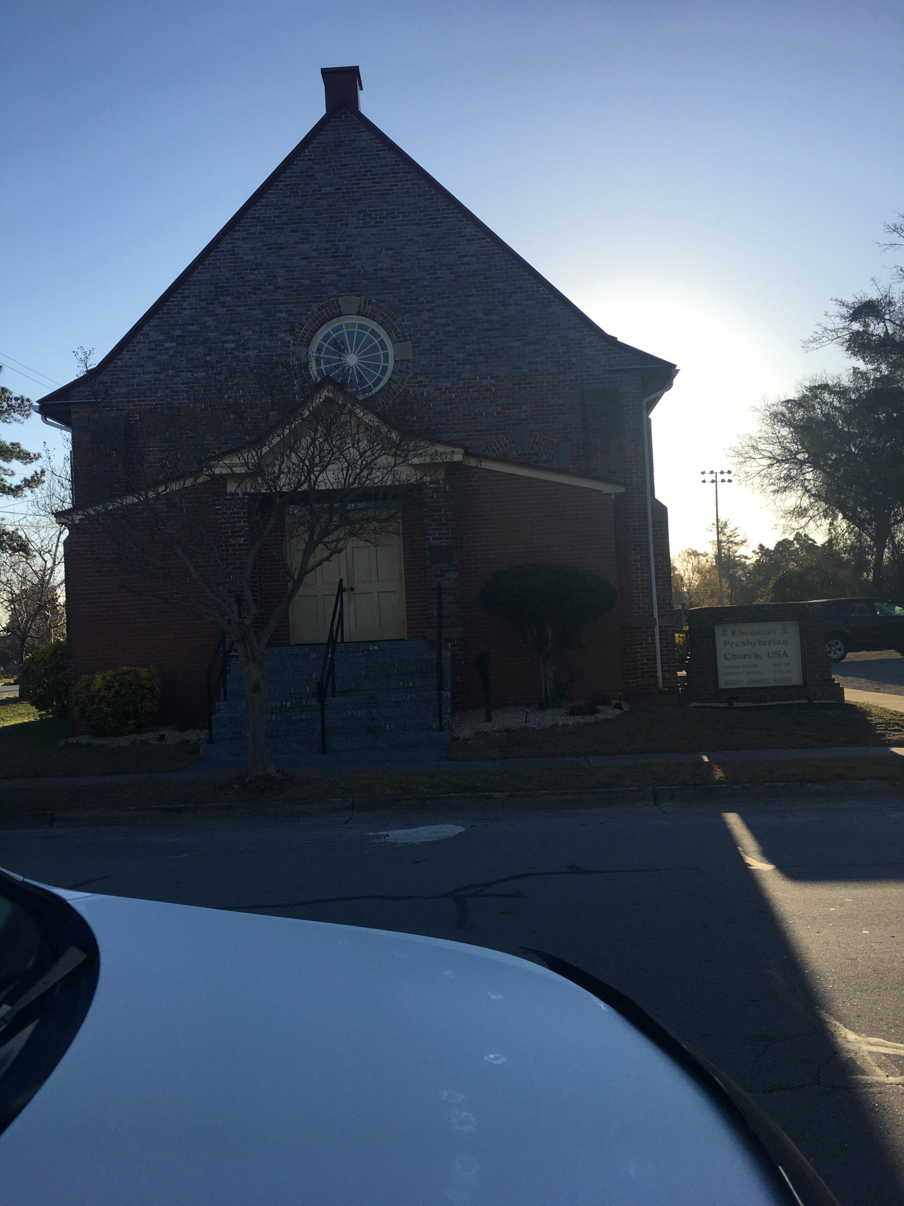 Ebenezer Presbyterian Church in New Bern.