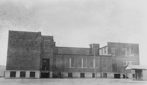 Alexandria's Parker-Gray School, which was named in part for Sarah Gray, 16 Nov. 1936, Virginia Department of Education School Buildings Service, image courtesy of the Library of Virginia.