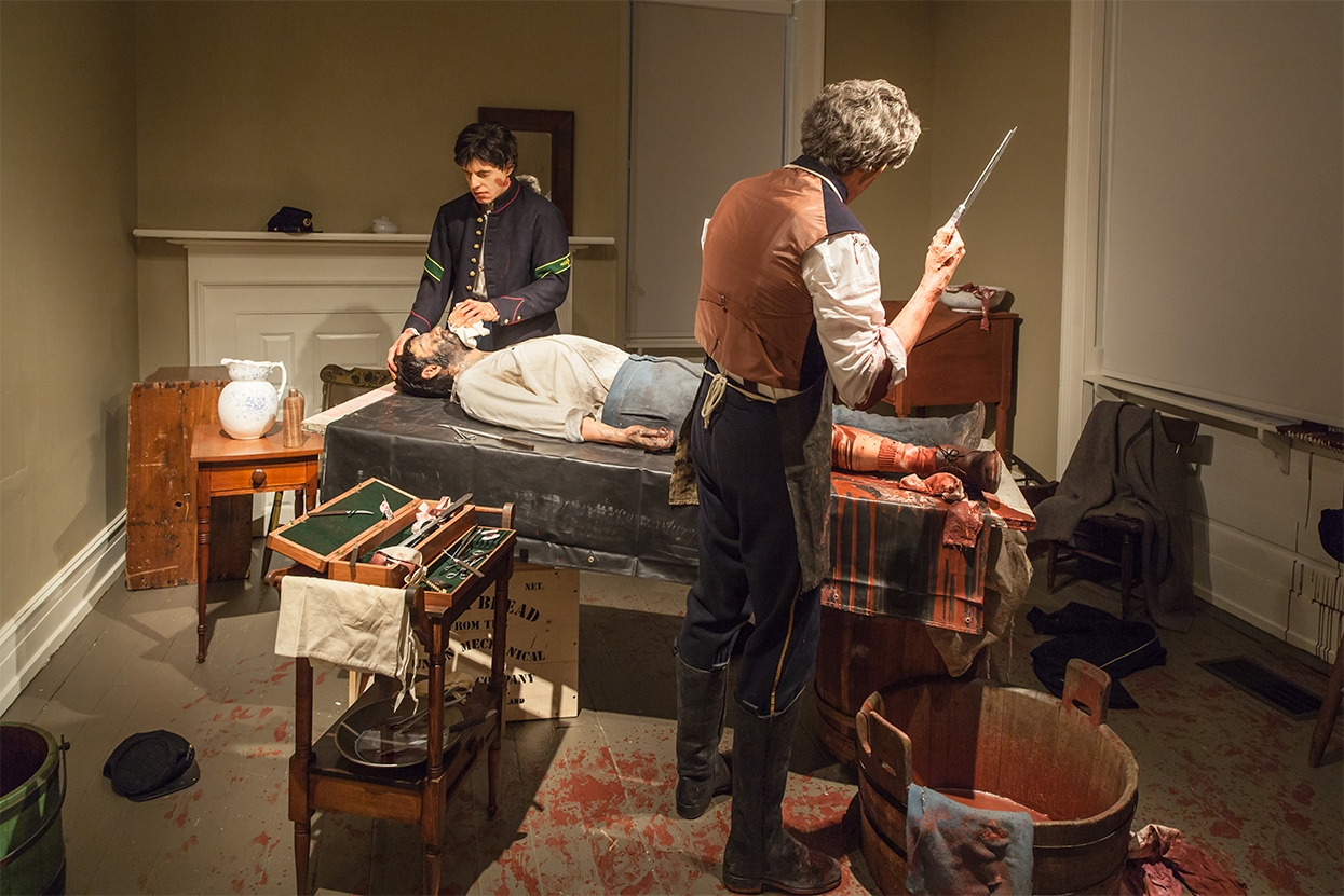 The Hospital Exhibit is just a small part of one of the interactive programs the museum has for its younger guests. Here, students can learn about the medical practices of the Civil War and the medical advancements made since then.