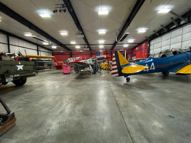 The Heritage Flight Museum houses 15 working historic military aircraft and military vehicles and artifacts.