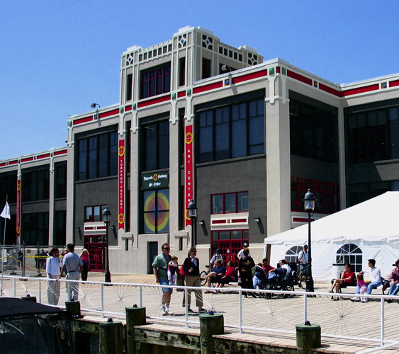 Torpedo Factory exterior, image courtesy of the Torpedo Factory Art Center.