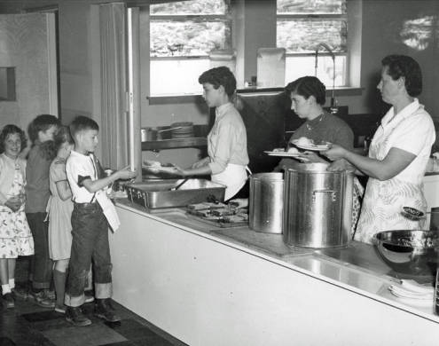 Cafeteria (photo from Boise State Special Collections)