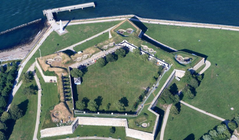 Fort Independence is the oldest fortified site of English origin in the United States