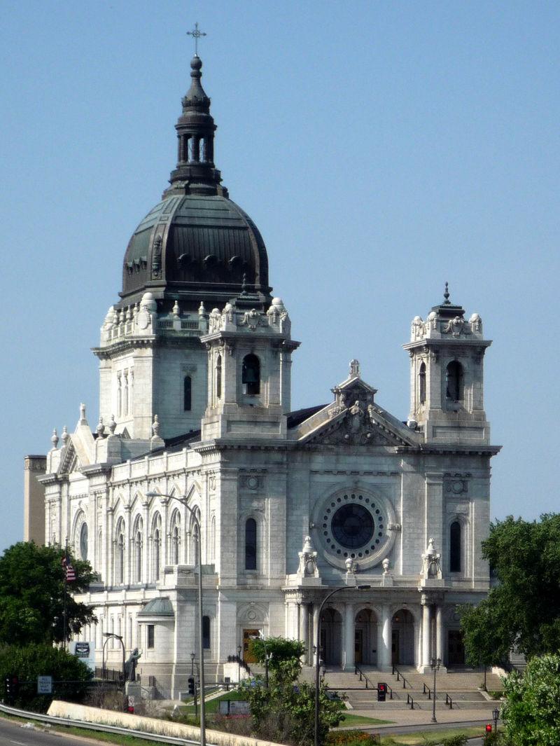 The  Basilica of Saint Mary was built between 1907-1915. Photo: Bobak Ha'Eri, via Wikimedia Commons