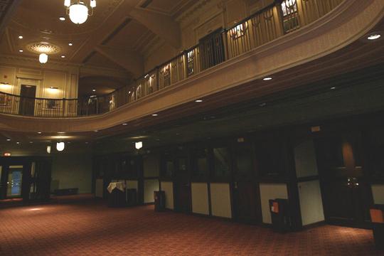 The Hilbert Circle Theatre's Main Lobby