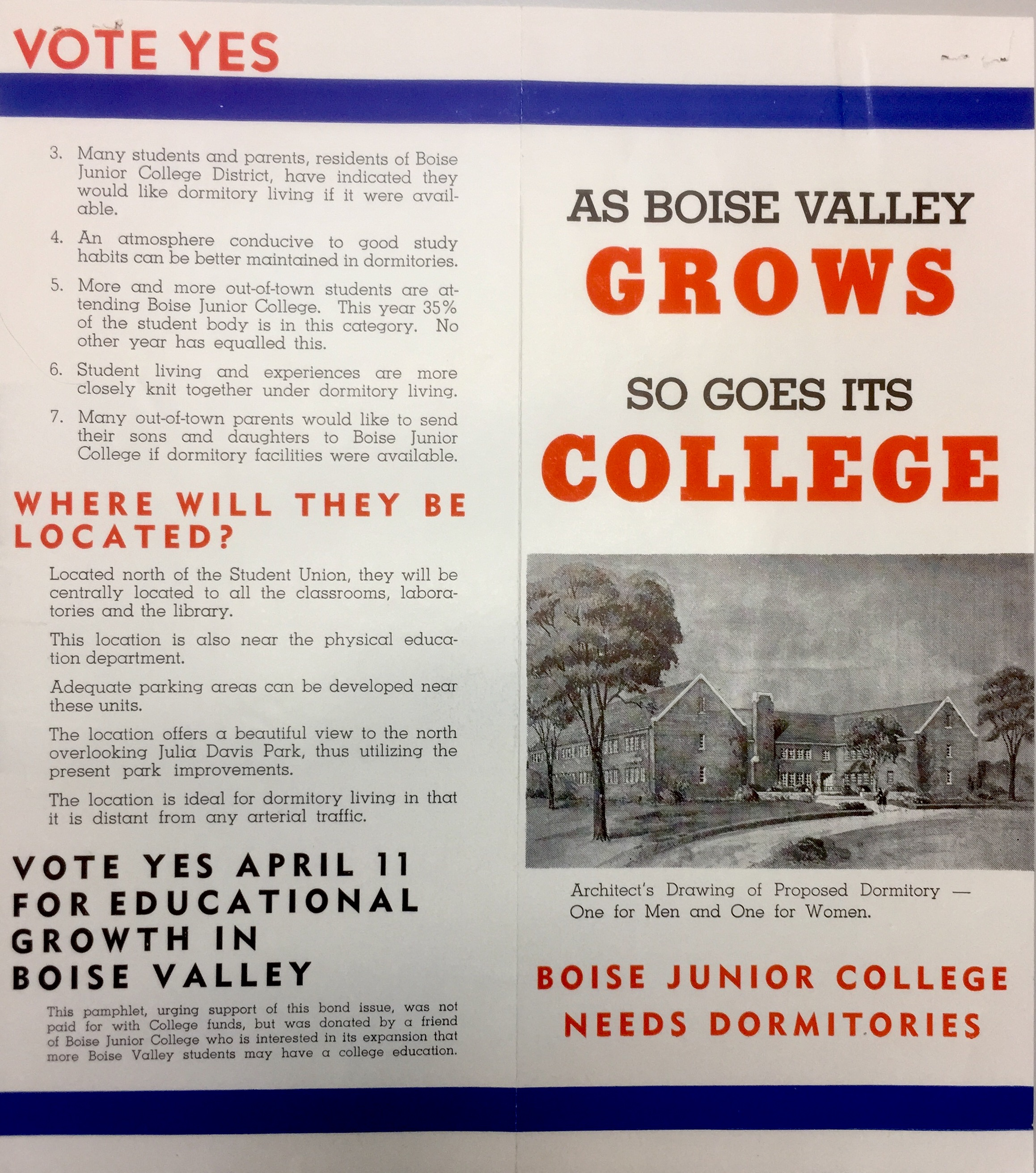 New Dormitory Proposal (1950) 