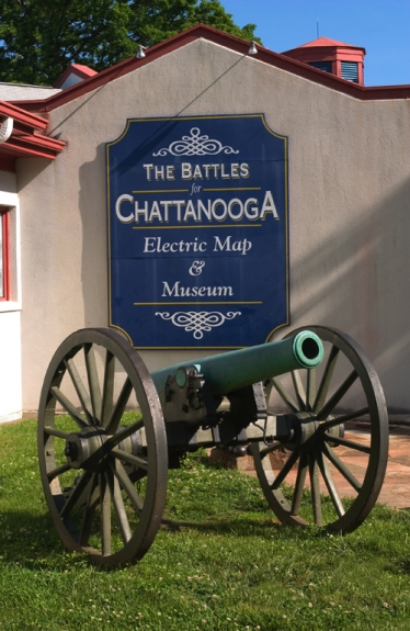 The Battles for Chattanooga Electric Map & Museum