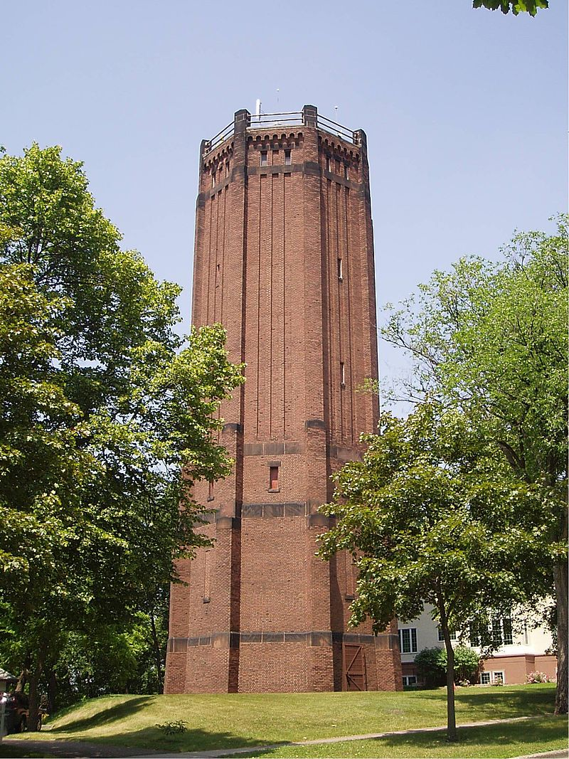 The Kenwood Park Water Tower was built in 1910 and operated until 1954.