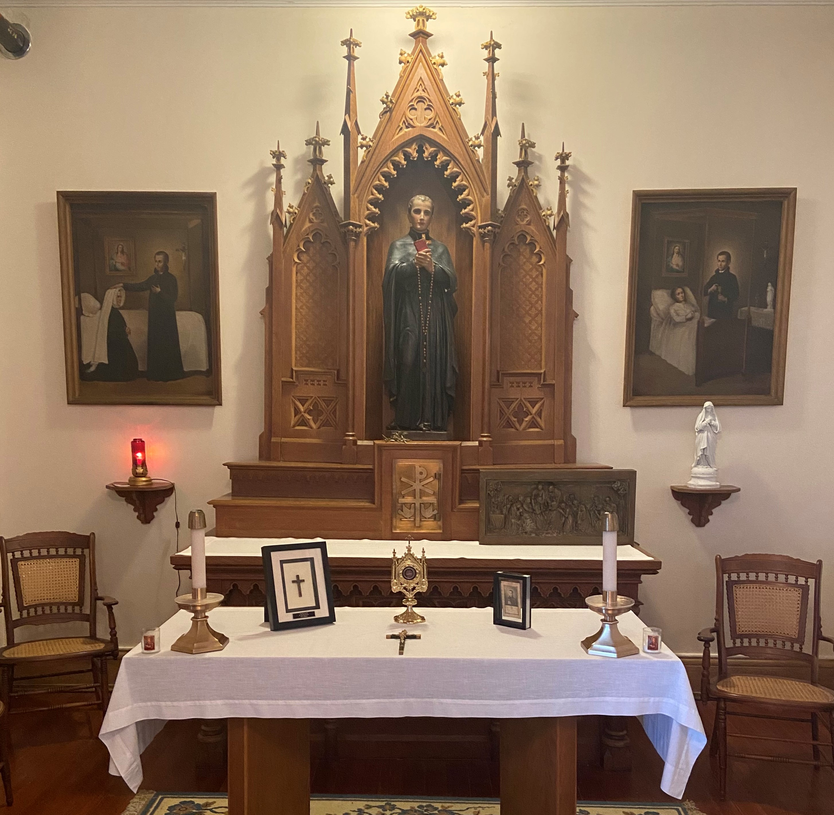 Altar in the Shrine of St. John Berchmans