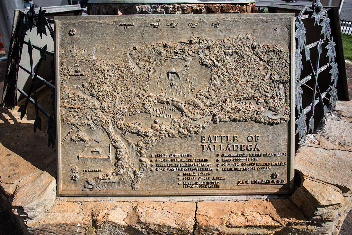 Big Springs Monument in Talladega