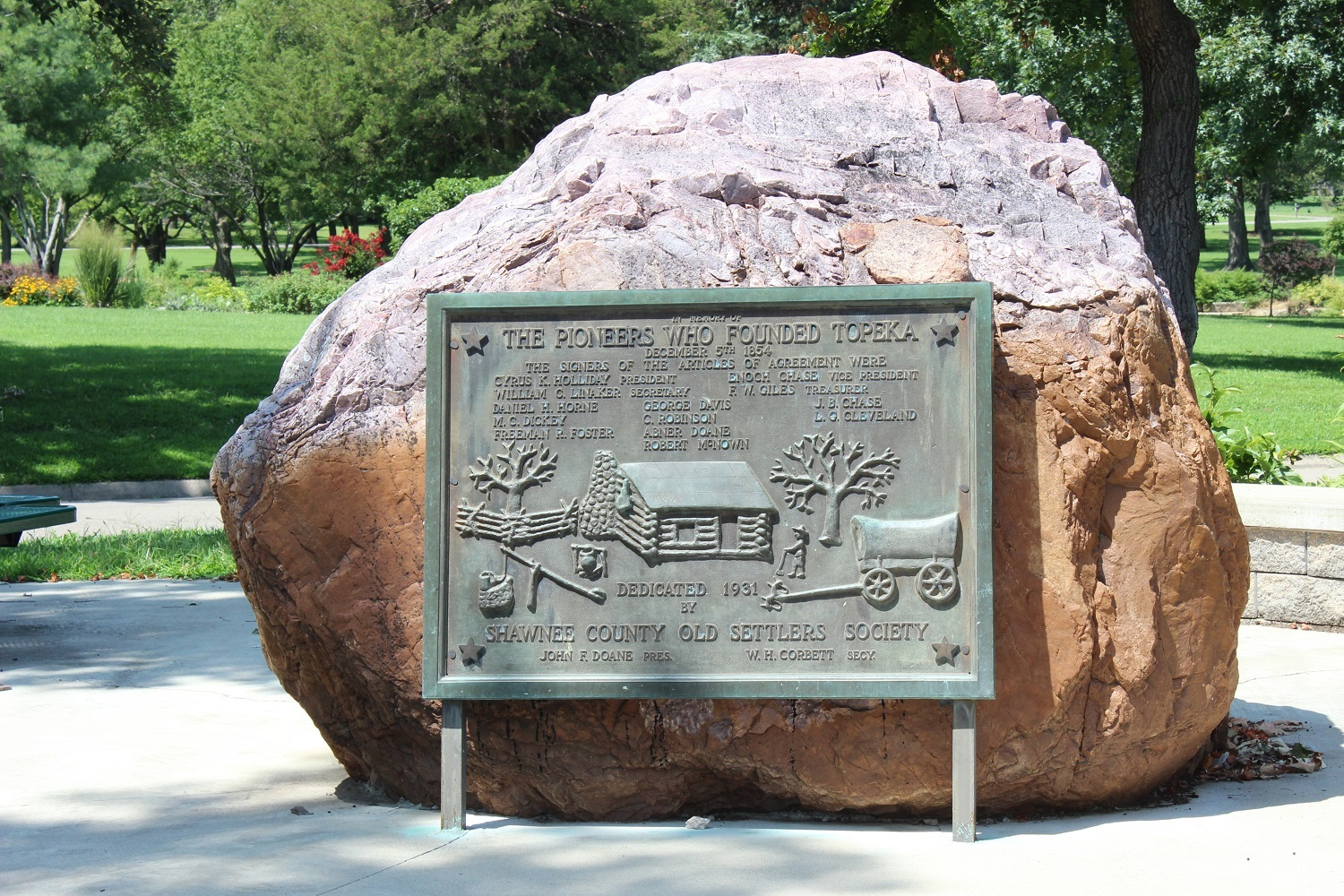 The Pioneers Who Founded Topeka