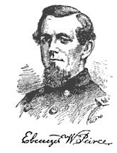 Brig. Gen. Ebenezer Pierce commander of Union forces during the Battle of Big Bethel.