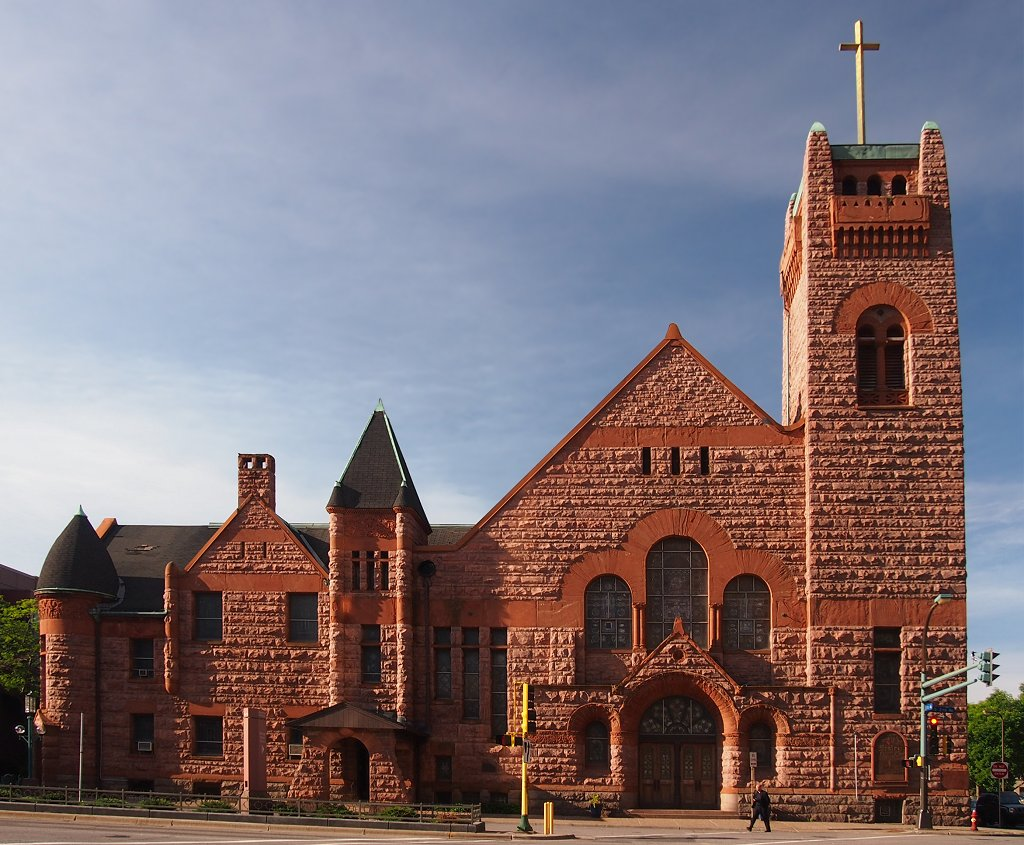 The Historic Wesley Center, formerly the Wesley United Methodist Church, was built in 1891. Photo: McGhiever, via Wikimedia Commons