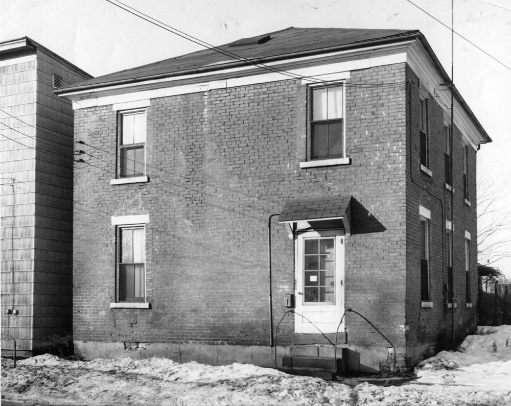Samuel Shaffer's house was erected in 1842. It was the first railroad station in Alliance.