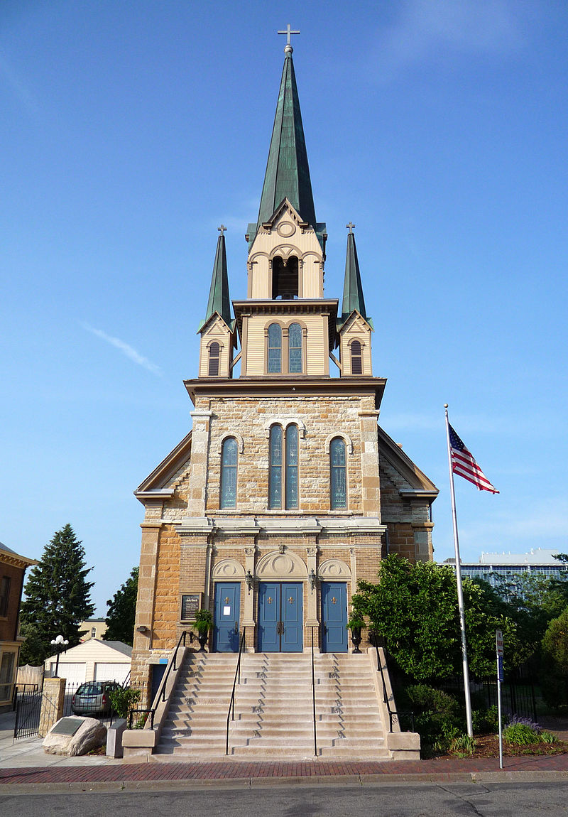 Our Lady of Lourdes Catholic Church is the oldest continuously used church in Minneapolis.