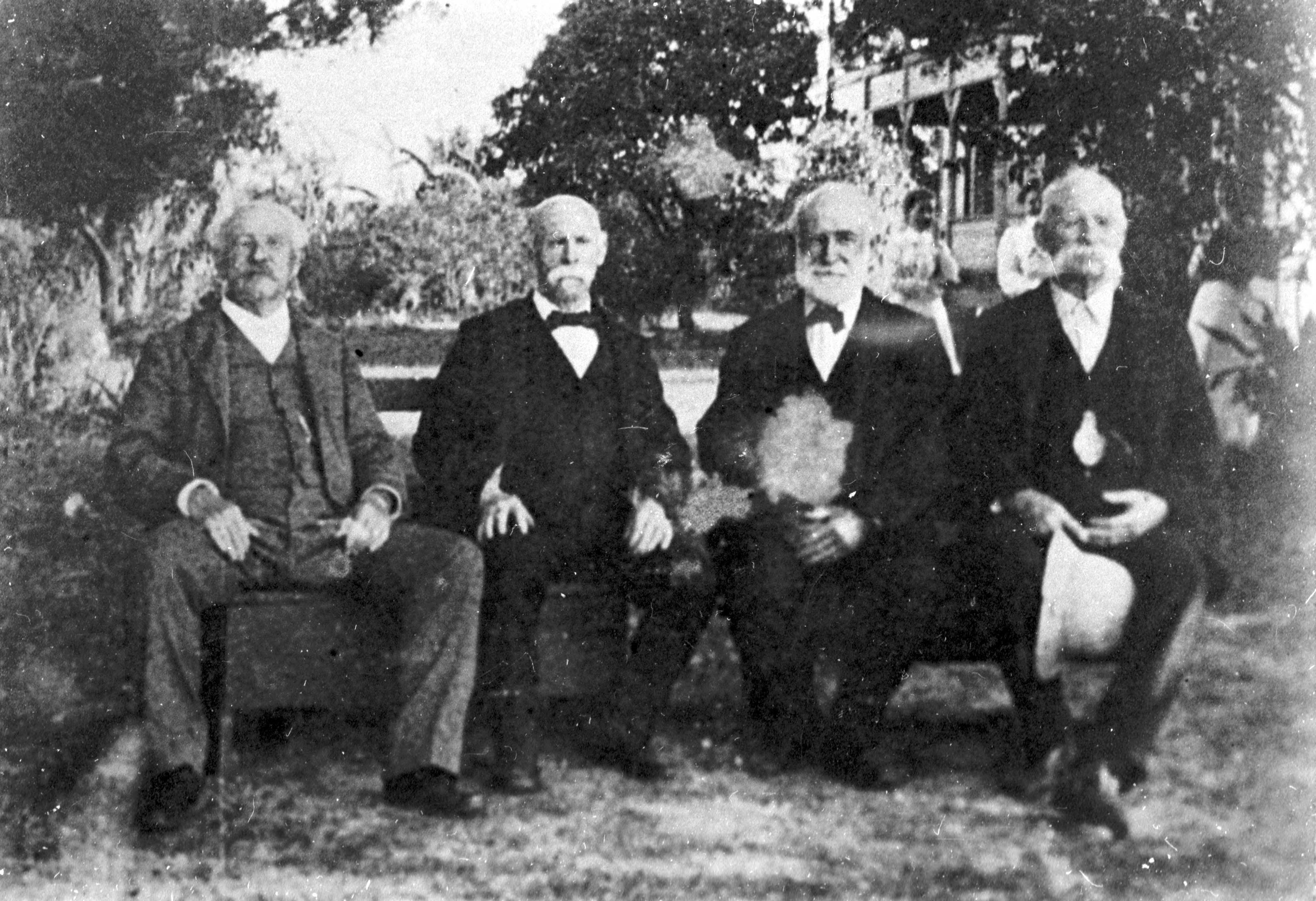 The four Fogarty brothers: Jerry, William, Bartholomew, and John (ca. 1905-1910)