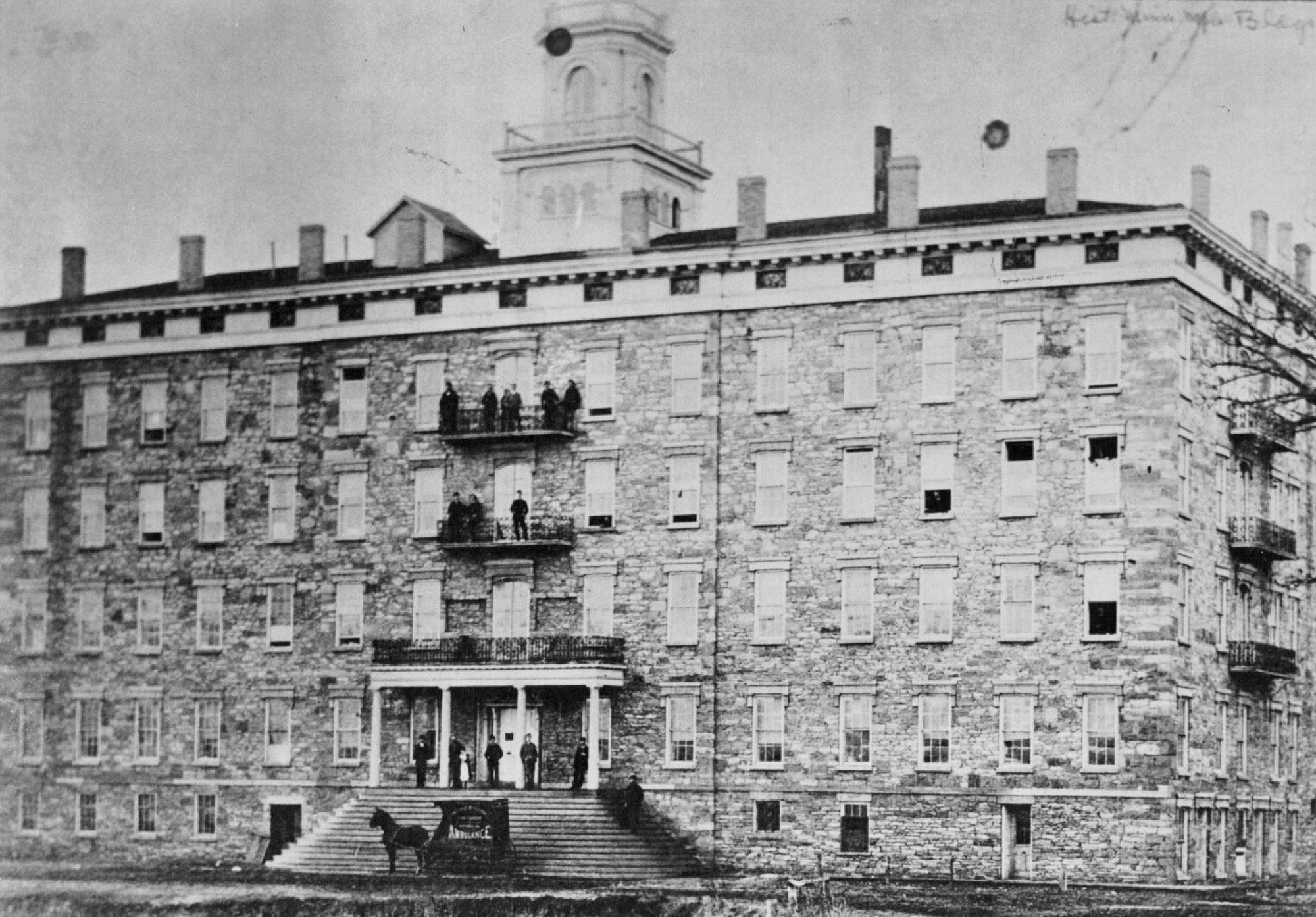 The Winslow House as is appeared in 1856. Photo: Star Tribune file