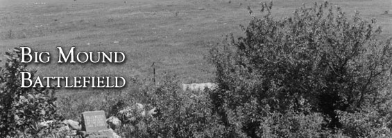 A photo from the State Historical Society of North Dakota showing the granite headstone of Dr. Weiser.