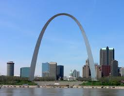 The Gateway Arch is a monument to western expansion and is the centerpiece of the Jefferson National Expansion Memorial which pays tribute to the Louisiana Purchase.