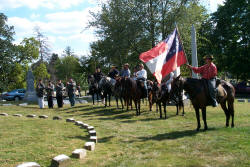 Confederate soldiers during the Reenactment of the Cynthiana Battle (2001)