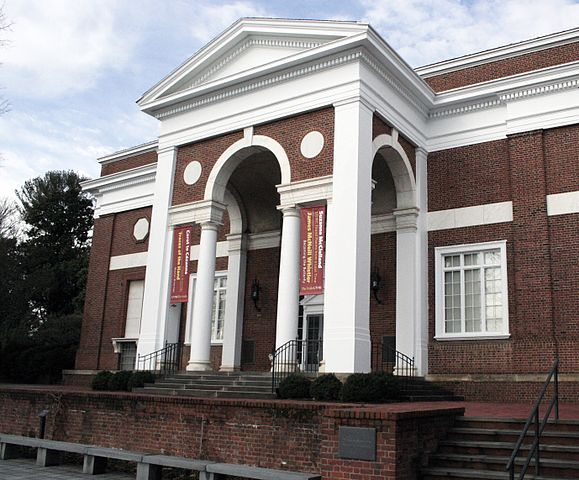 The Fralin Museum of Art is located in the Bayly Building on the campus of the University of Virginia