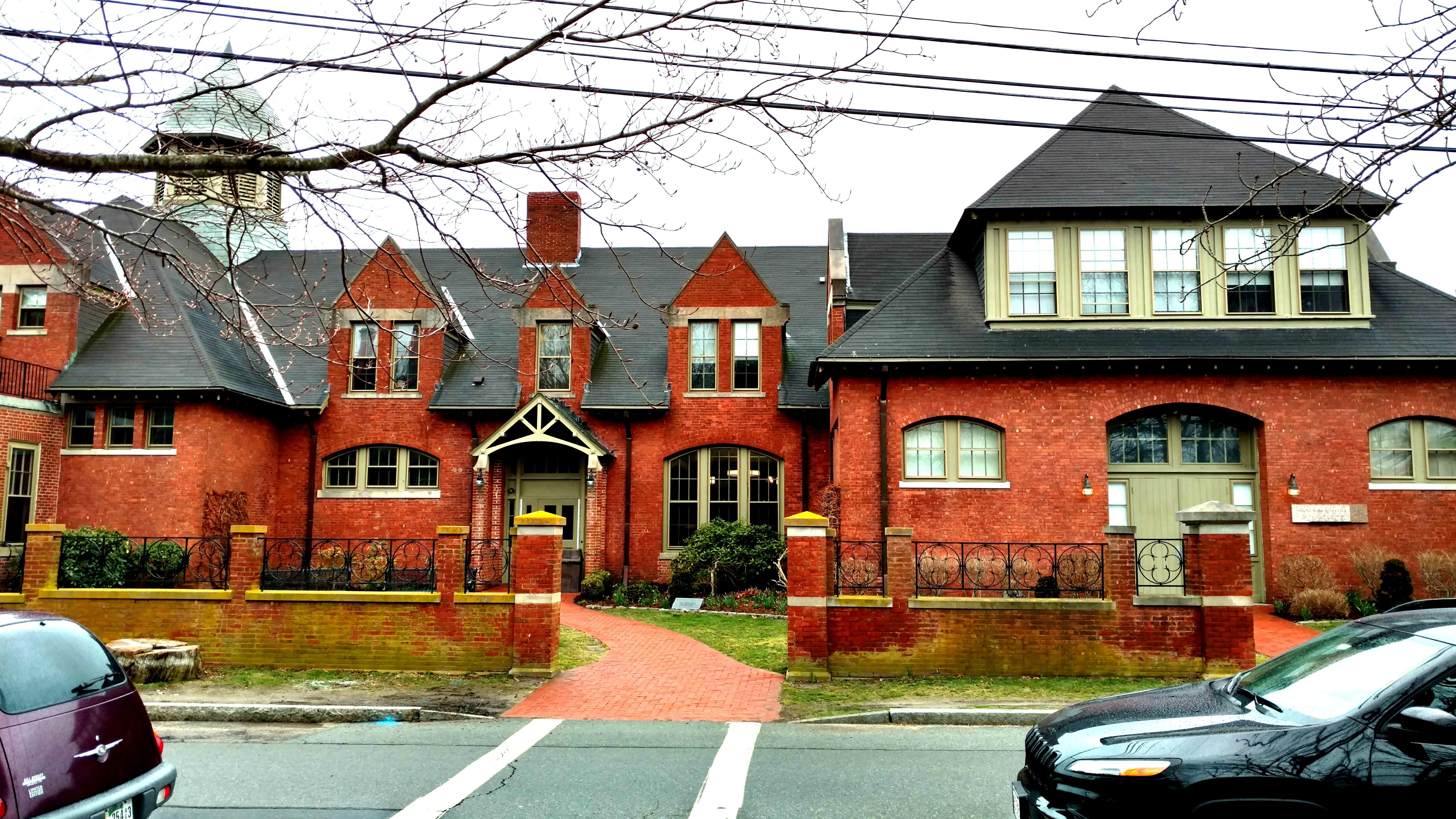Exterior of Antone Academic Center. Photo taken by Ellen Tuttle.
