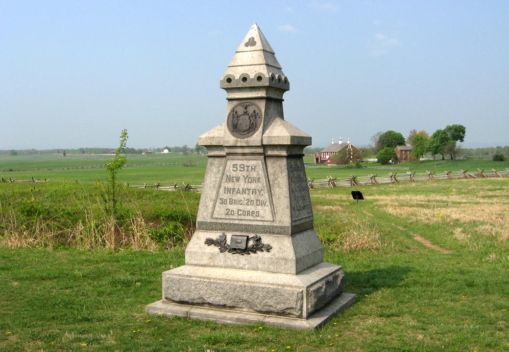 59th New York Infantry Monument.