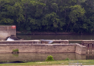 Lock #10 at Ft. Boonesborough.