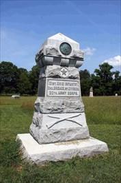 101st Ohio Infantry Regiment Monument in Georgia