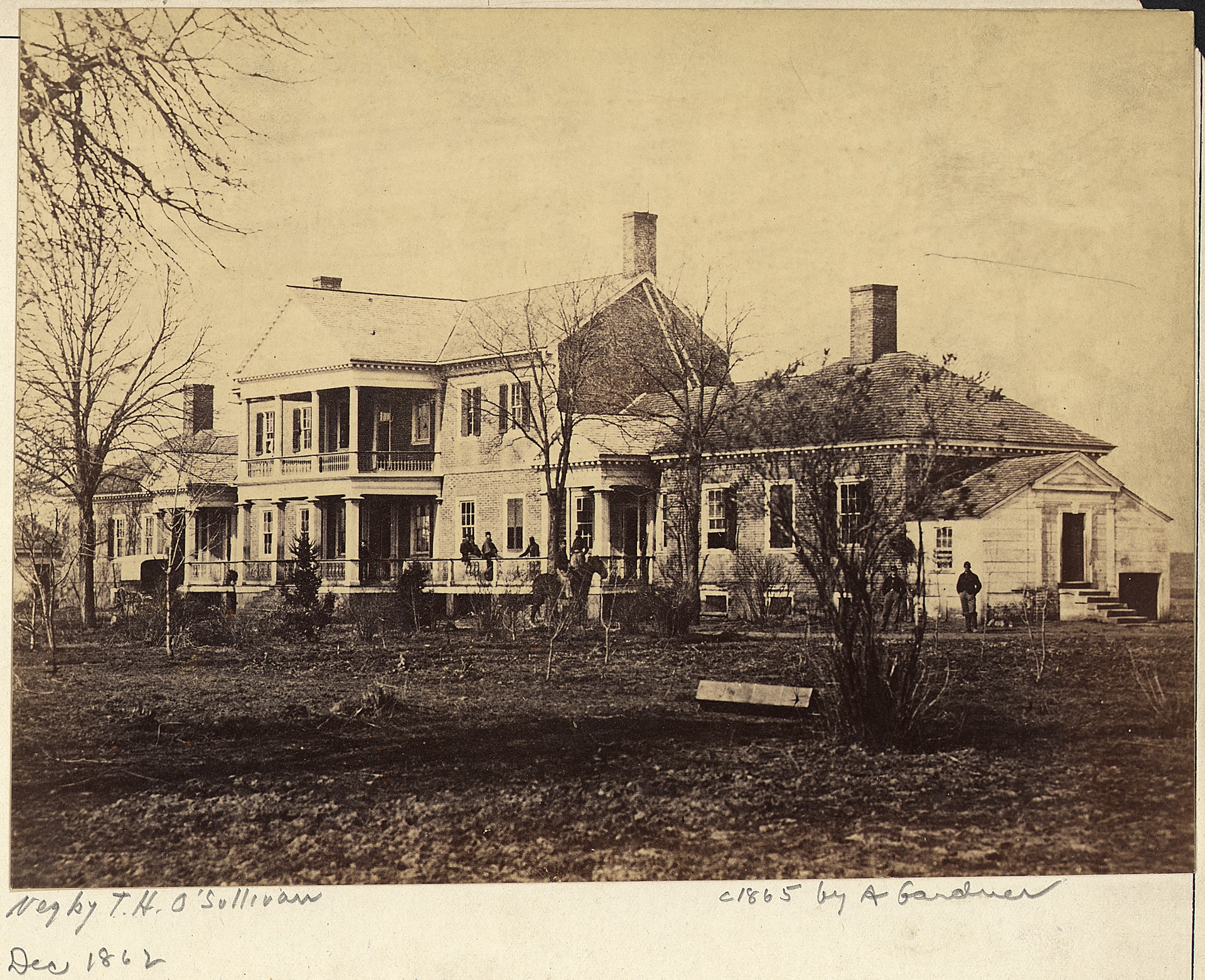 Chatham Manor in the year of 1862