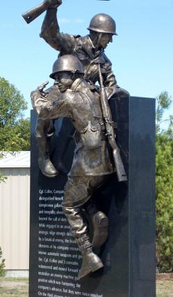 The Medal of Honor memorial