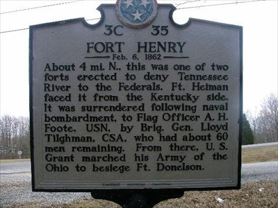 The marker is four miles South of the location of the fort where the Confederates attempted to control this area of the Mississippi River.