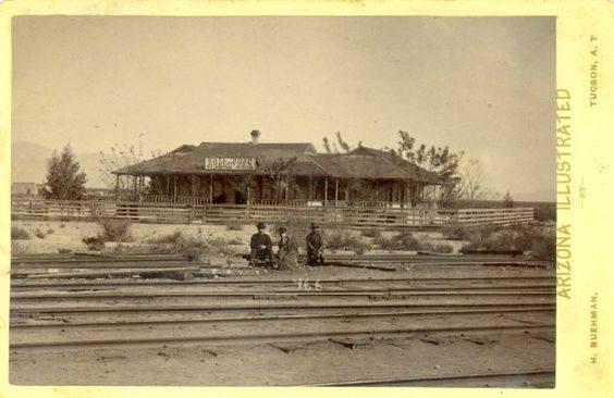Depot in 1908.