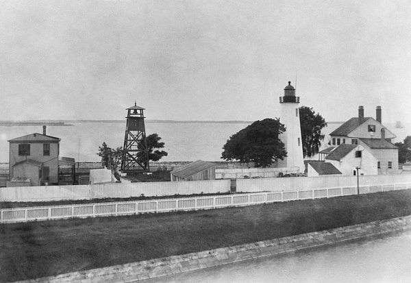 Old Point Comfort Lighthouse ca. 1885