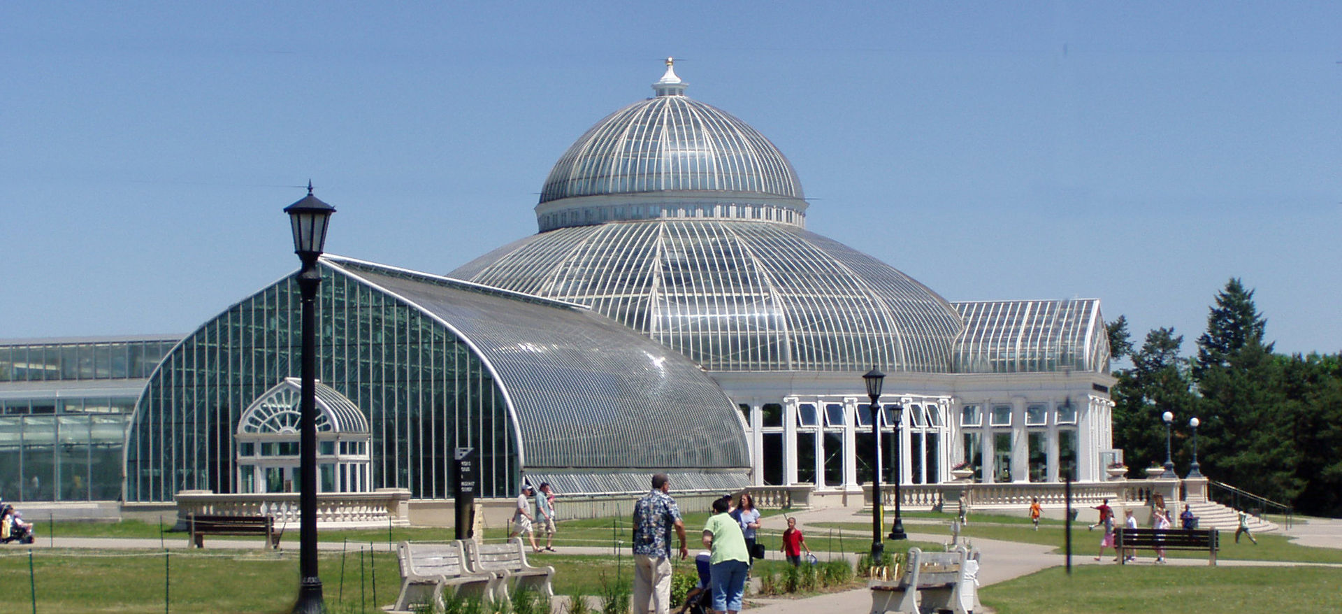 The Marjorie McNeely Conservatory was built in 1915.