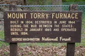 Mount Torry Furnace Sign