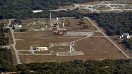 Overview of the Air Force Space and Missile Museum, Launch Pad 26 and Launch Pad 5/6.