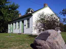 Harveysburg Free Black School, now home to the Harveysburg Community Historical Society