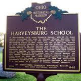 Harveysburg Free Black School Ohio Historical Marker