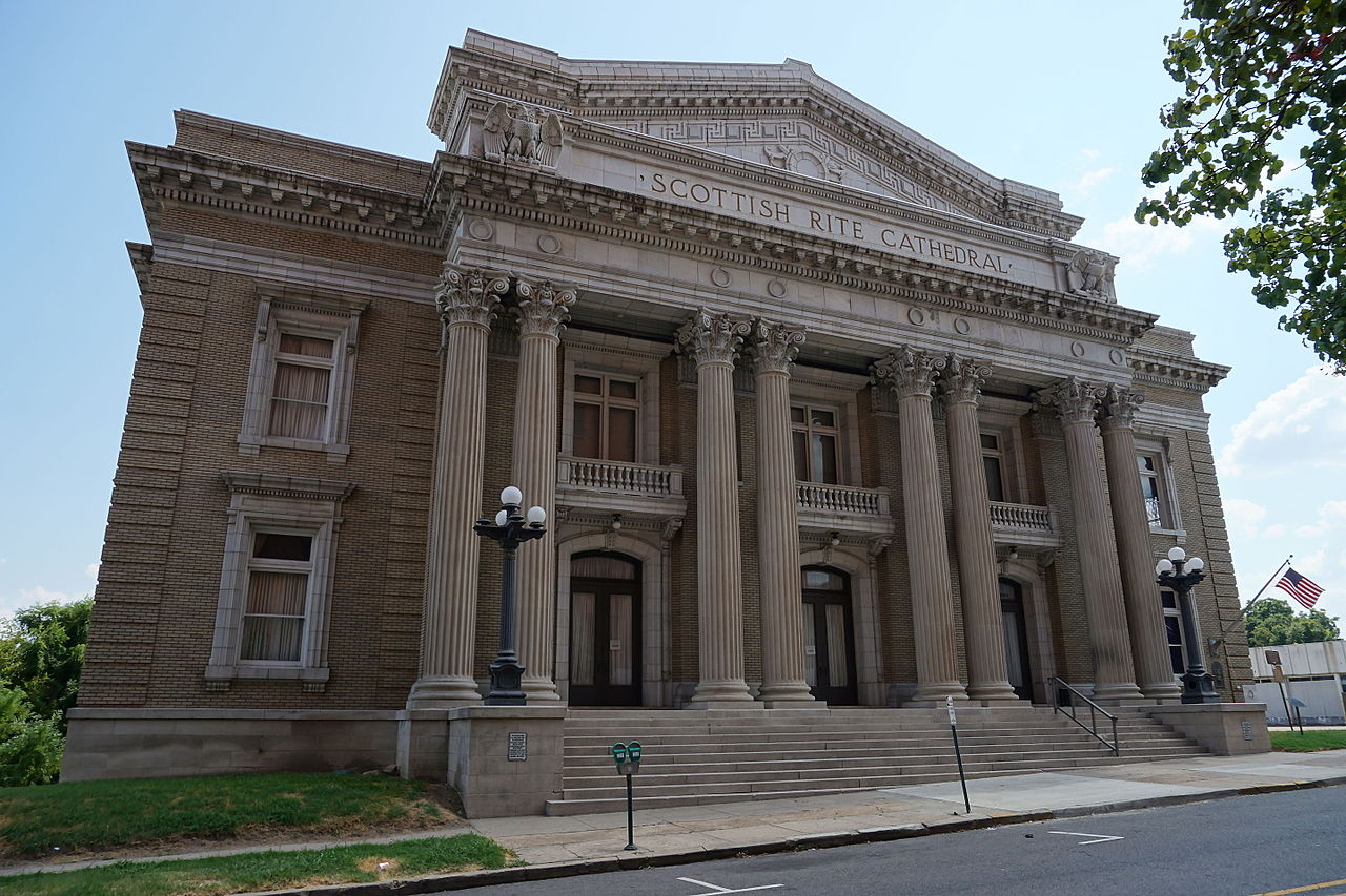 Erected in 1917, the Scottish Rite Temple is one of the most architecturally striking buildings in Shreveport.