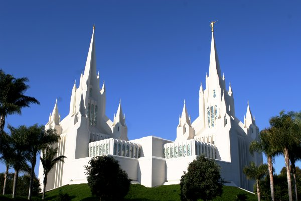 The San Diego Temple as it looks today