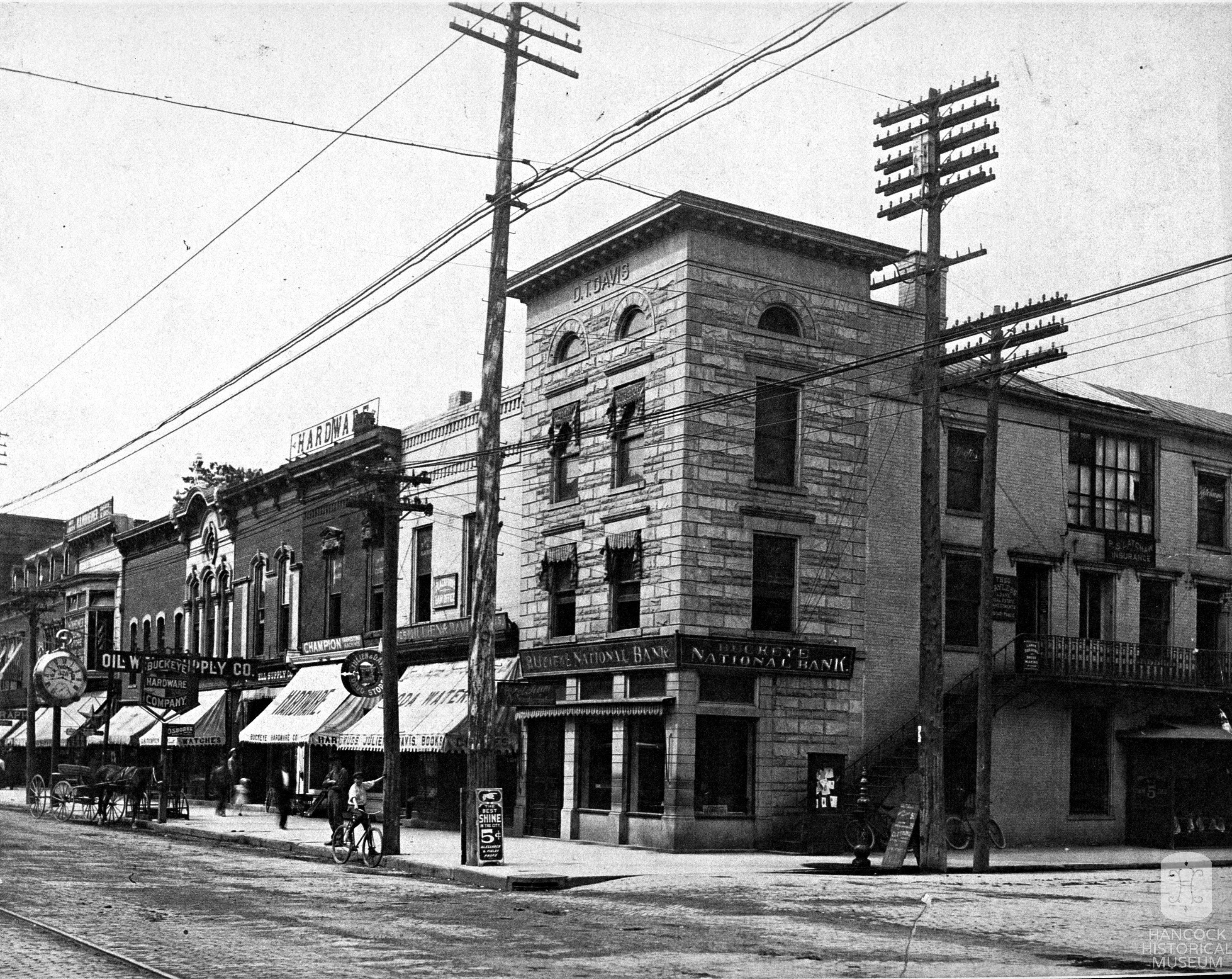 The Davis Block circa 1900
