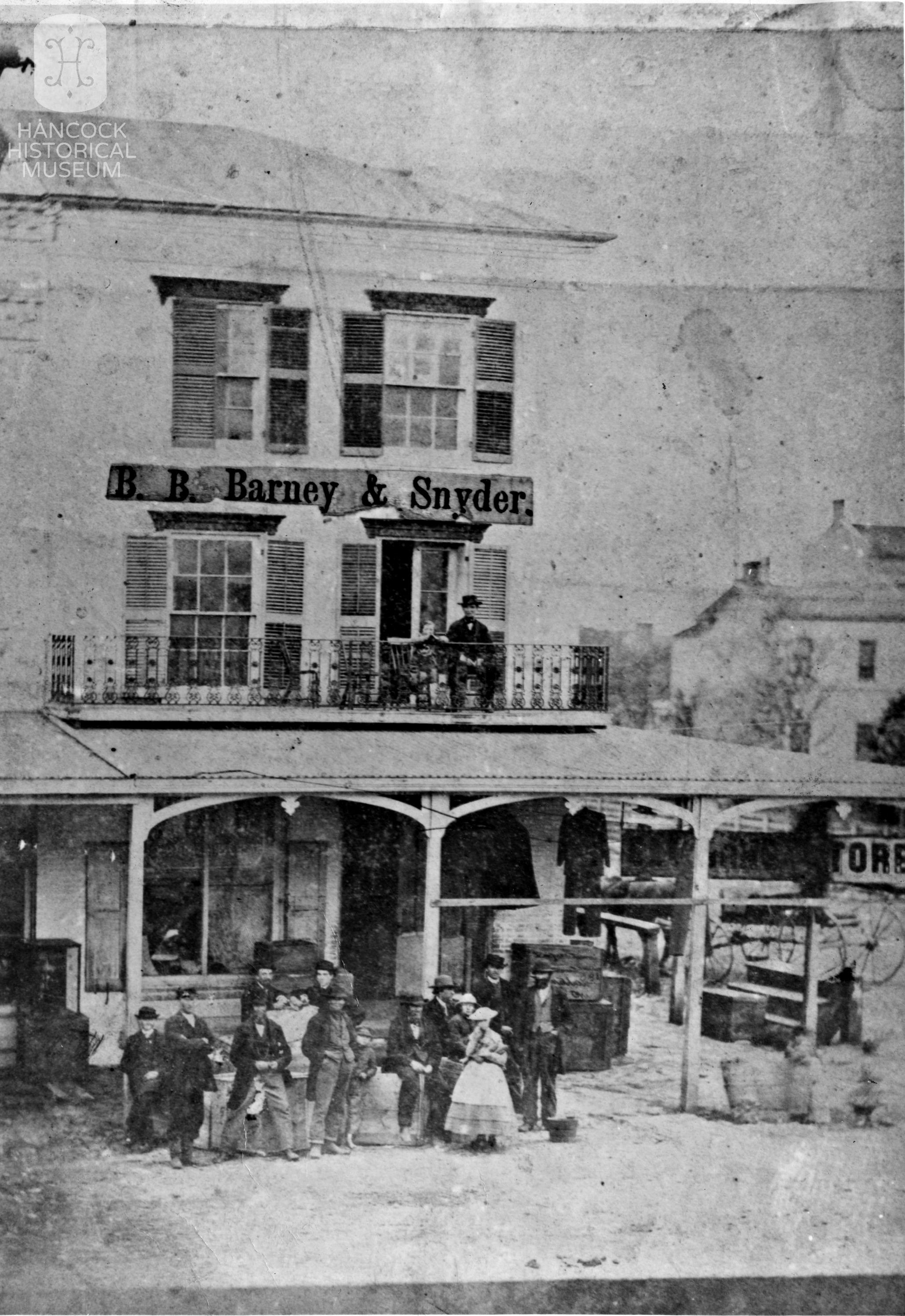 Davis Building c 1865