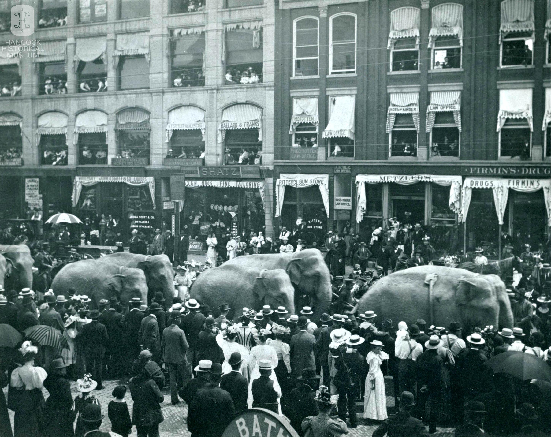 Circus Parade c 1900