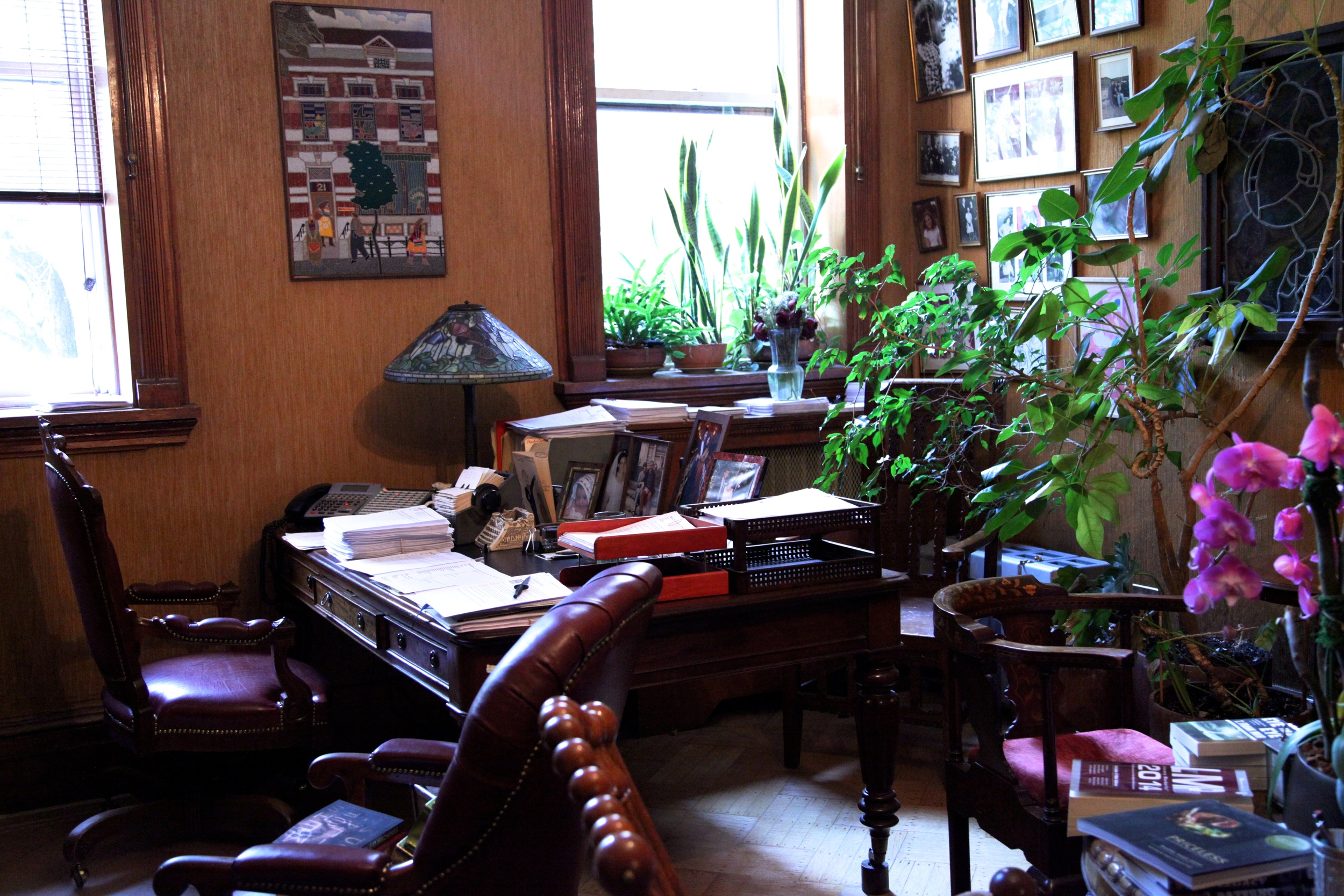 Office at The Writers House.