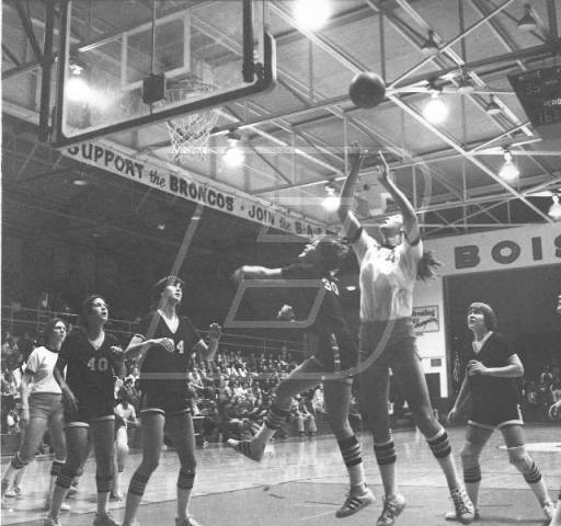 Womens Basketball in1978